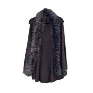Odiva faux fur vest